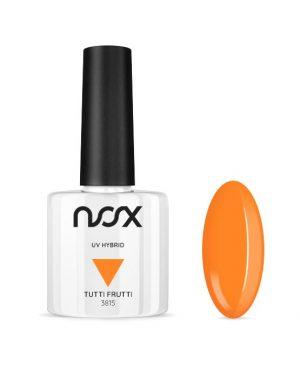 Neonowy pomarańczowy lakier hybrydowy